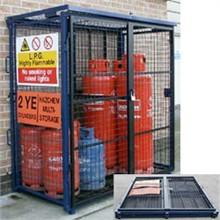 Van Vault Site & Tool Storage Fold Away Gas Cage Sitebox11