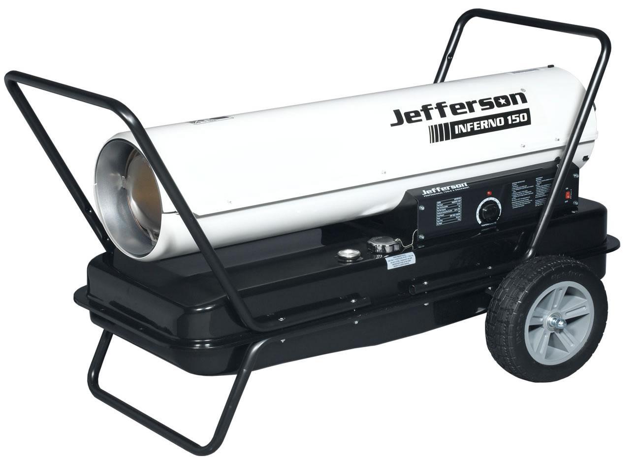 Inferno 150 Space Heater Jefhtspc150