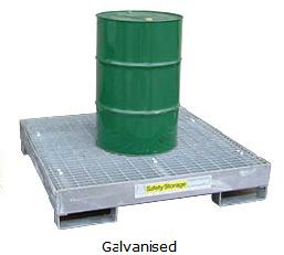 Spill Kits And Spill Pallets Steel Spill Pallets1400 Sss20