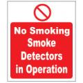 Prohibition Safety Signs No Smoking Plastic Pro2