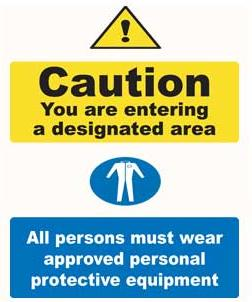 Site Notice Safety Signs Caution Sign Plastic Sit1