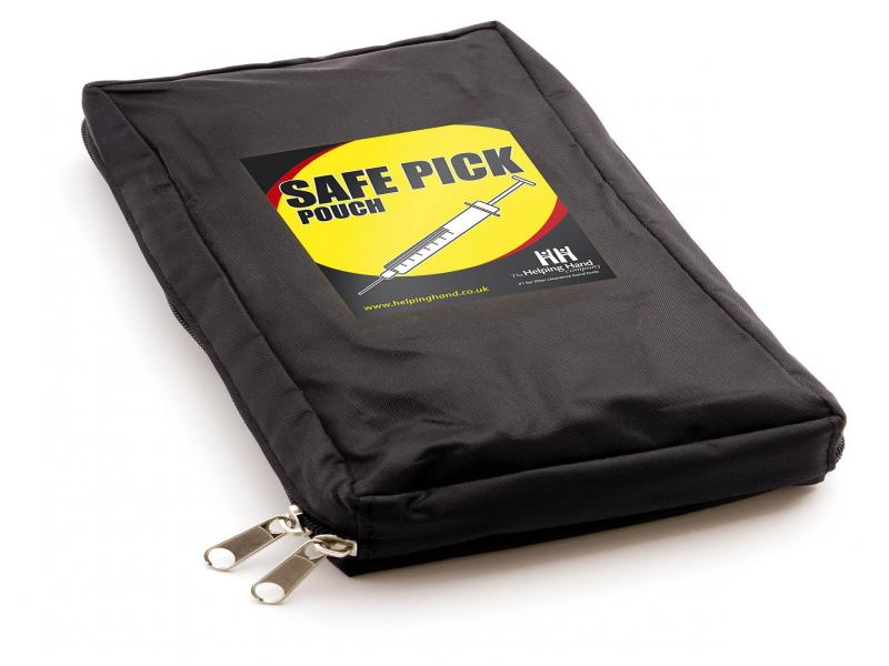 Safe Pick Sharps Pouch Product Code: Lp1321pchflp