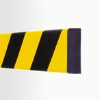 Traffic Calming / Speed Ramps Rectangle 60/20 Self-adhesive (1m) Impact Protection Foam Black / Yellow Pit41
