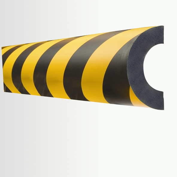 Traffic Calming / Speed Ramps Curvature 60 (1m) Impact Protection Foam Pitt45