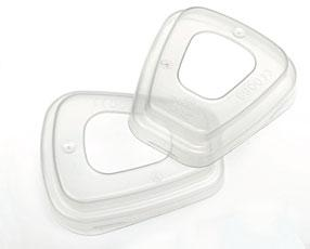 3m 501 Filter Retainer 1pair Bee