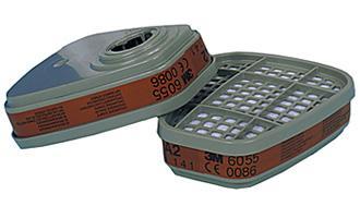 3m 6055 A2 Filter(pack=1pr) Bee