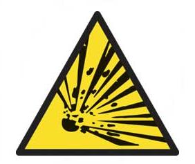 Caution Hazard Signs Caution Hazard Safety Sign Aluminium Art306 Haz16