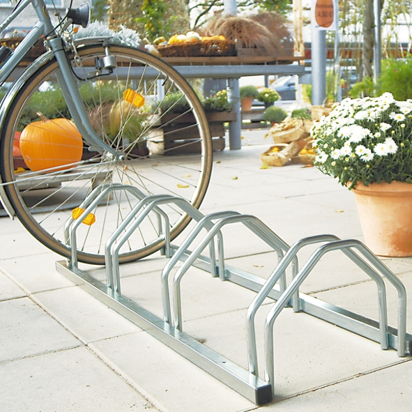 Bike Stands Bicycle Rack A4 - Capacity For 4 Bikes Pitt8
