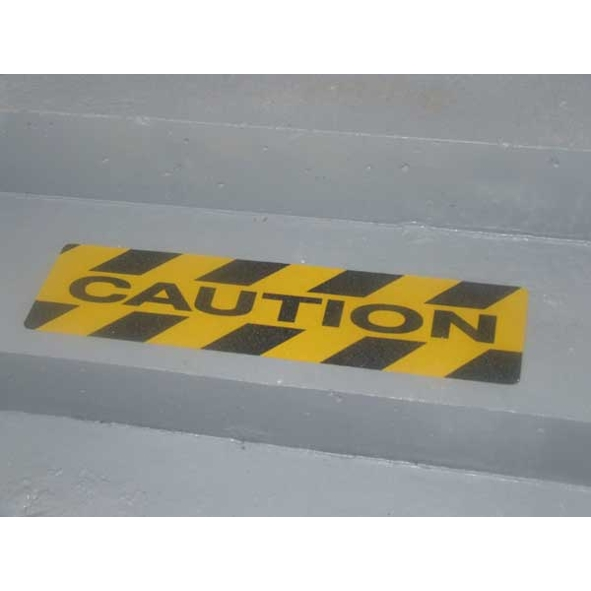 "Tapes Non-slip Walk-safe Tape ""caution"" 600 X 150mm Pitt31"