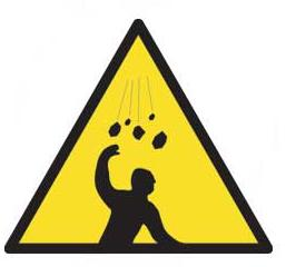 Caution Hazard Signs Caution Hazard Safety Sign Aluminium Art307 Haz21