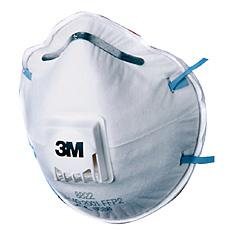 3m 8822 Mask Ffp2v (5 Pack) Bee