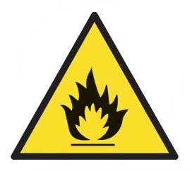 Caution Hazard Signs Caution Hazard Safety Sign Plastic Art308 Haz24