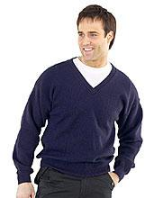 Acrylic Sweater V/n Navy L Bee