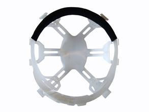 Vent Helmet Rep Plastic Harnes Bee