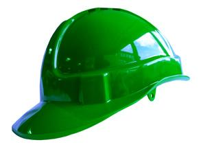 B-brand Vented S/helmet Green Bee