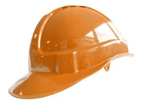 B-brand Vented S/helmet Orange Bee