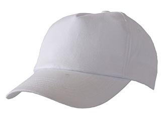 Baseball Cap White Bee