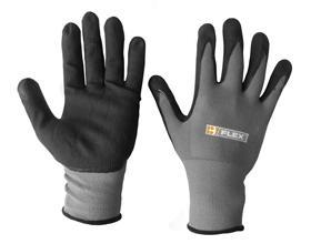 Nitrile Pu Mix Coated Glove L Bee