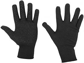 Thermolite Glove Dotted Blk Bee