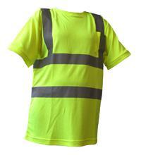 Crew Neck T-shirt Sat Yel L Bee