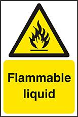 Flammable Liquid Sav (pk5) Bee