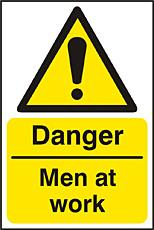 Danger Men At Work Rpvc (pk5) Bee