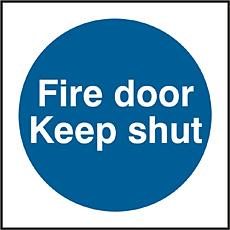 Fire Door Keep Shut Sav (pk5) Bee