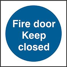 Fire Door Keep Closed Sav(pk5) Bee