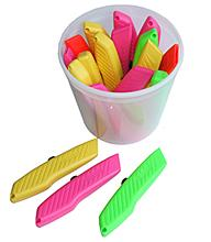 Hi-viz Knife-18 In Plastic Tub Bee