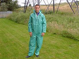 Chemtex Coverall Green L Bee