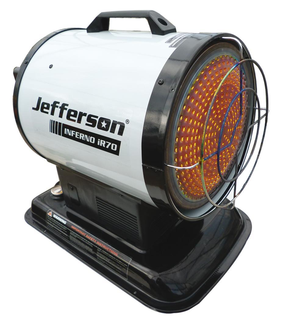 Infrared 70 Heater Jefhtrad070