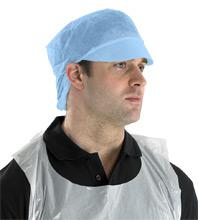 Disposable Snood Cap Blue Bee