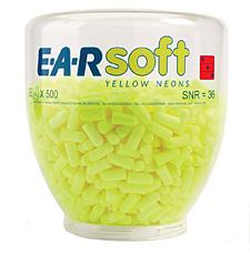 Ear Soft Yellow Neons Refill Bee