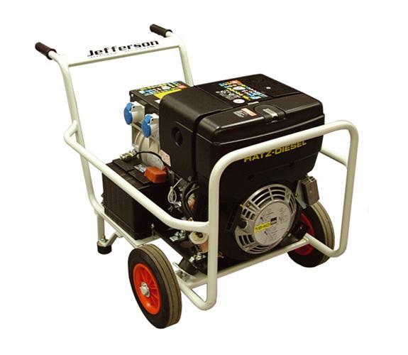 6.0kw Diesel Generator Genelite60hate