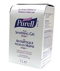 Nxt Purell Gel Vf481 8x1000ml Bee