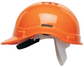 Hc300vel Vented Helmet Orange Bee