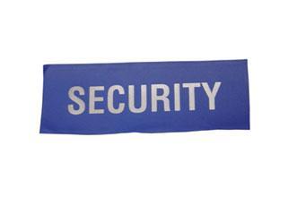 Heat Seal Security Badge Small Bee
