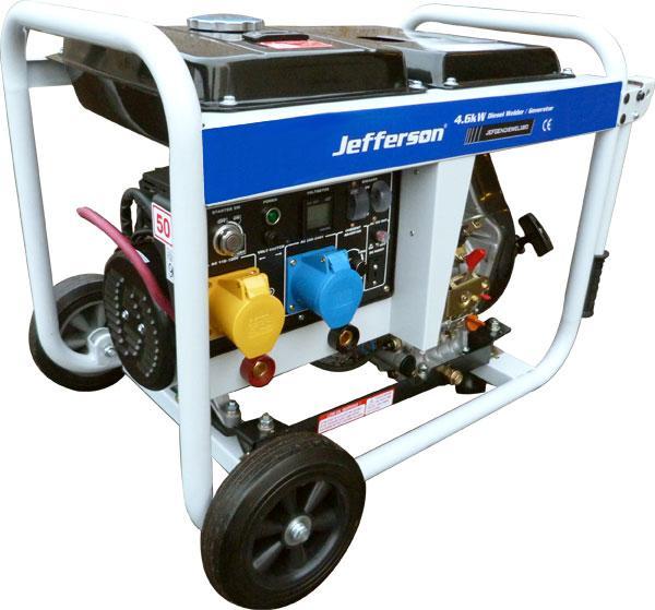 180amp Diesel Welder Generator New Jefgendiewel180