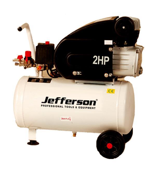 25 Litre 2hp Compressor 110v Jefld2001/110
