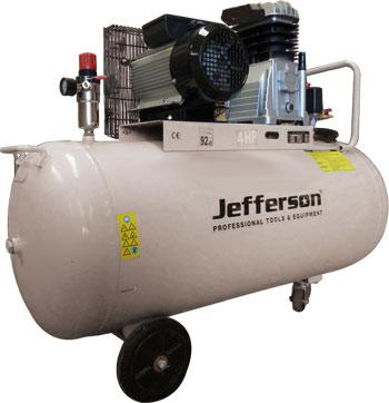 200 Litre 4hp Compressor 230v Jefld4009/200l