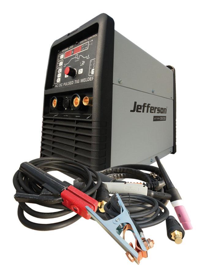 200 Amp Hf Pulse Tig Welder 230v Ac/dc Jeftigpu200/230