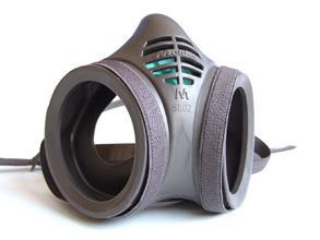 Moldex 8002 Mask Body Twin Ftr Bee
