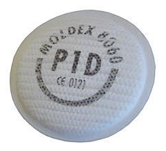 Moldex 8060 Partic Filter P1rd Bee