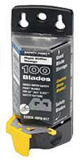 Safety Point Blades (pack 100) Bee