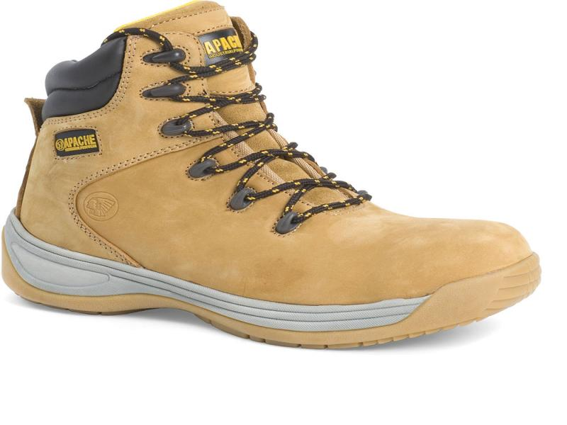 Ap314cm Size 8 Wheat Flexi Safety Hiker (sterling Safety)