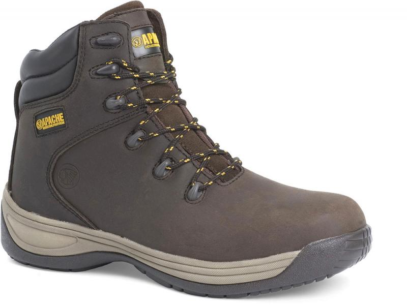 Ap315cm Size 8 Brown Flexi Safety Hiker (sterling Safety)