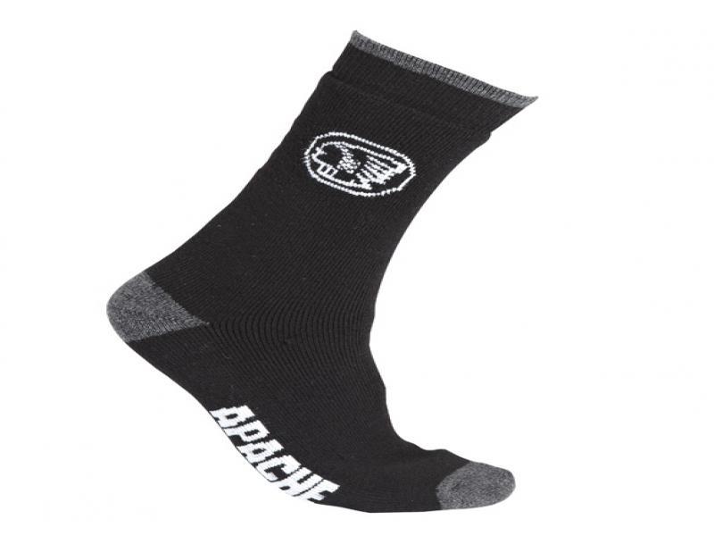 Apache Socks Apache Black/grey Boot Socks (sterling Safety)