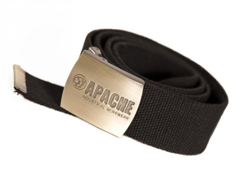Apbelt Black Belt With Nickel Buckle (sterling Safety)