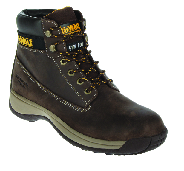 Apprentice Brown Size 8 Light Weight Flexi Hiker (sterling Safety)