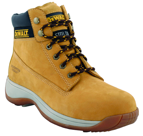Apprentice Honey Size 12 Light Weight Flexi Hiker (sterling Safety)